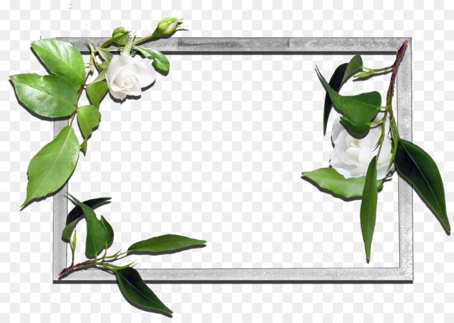 Picture Frames Desktop Wallpaper - flowers frame png download - 1600 ...