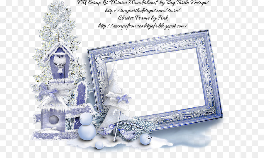 Picture Frames Winter cluster Autumn - wonderland png download - 700 ...