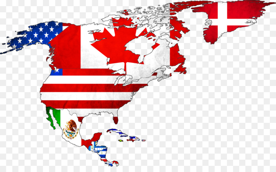 Flag of the United States World Flags of North America Map - ZORO ...