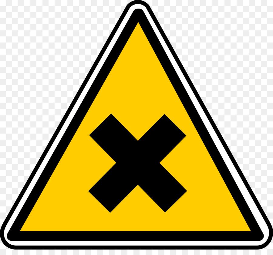 Hazard Symbol Warning Sign Danger Png Download 24002191 Free