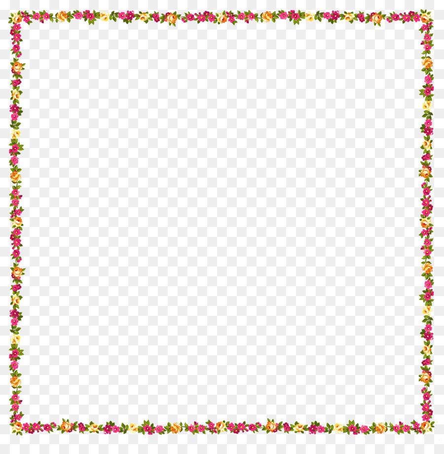 Picture frames flower clip art pink flower border png download picture frames flower clip art pink flower border mightylinksfo