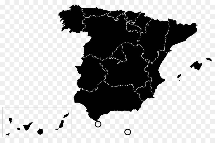 Map Of Spain Download Free.Black Line Background Png Download 1280 828 Free Transparent