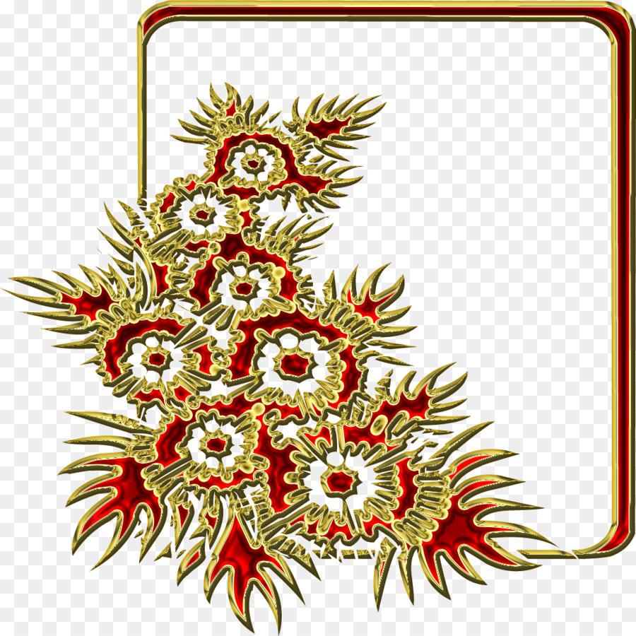 Weihnachten ornament Bilderrahmen Christmas tree Neues Jahr - Gold ...