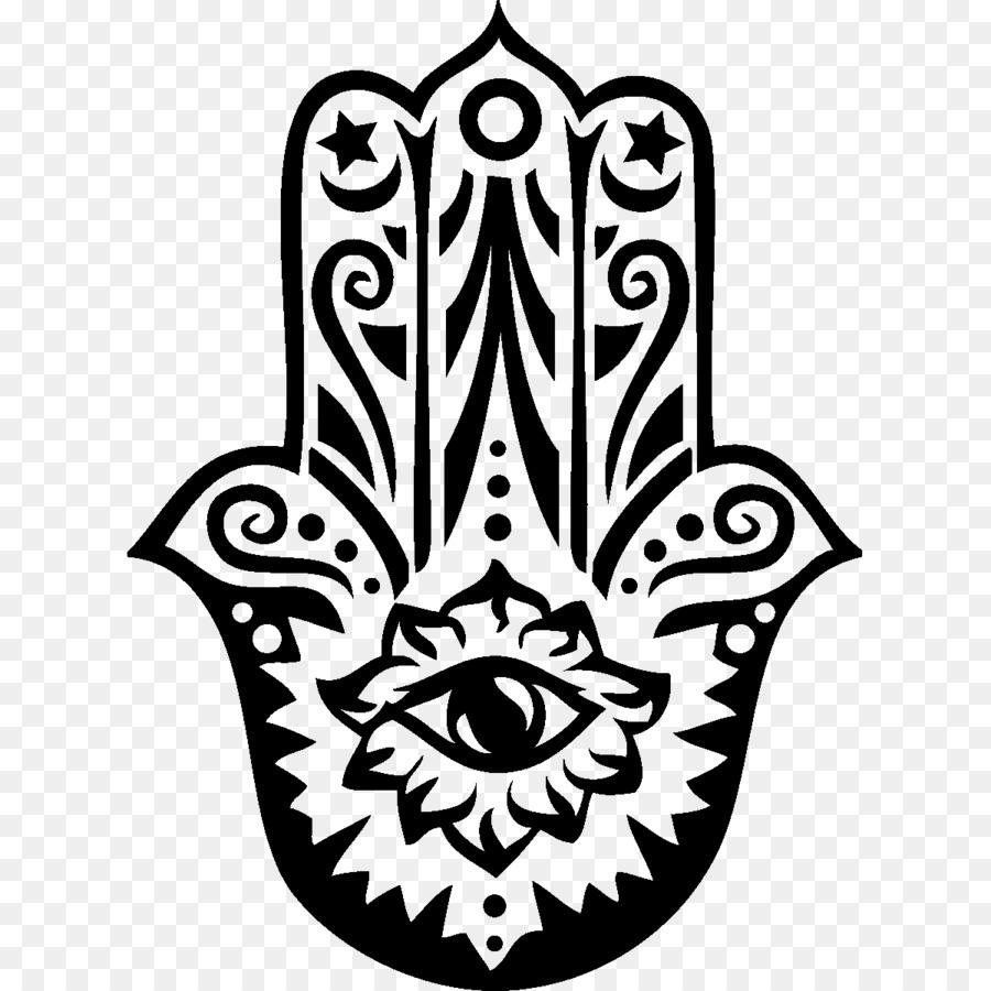 Hamsa T Shirt Symbol Judaism Amulet Posters Png Download 1200