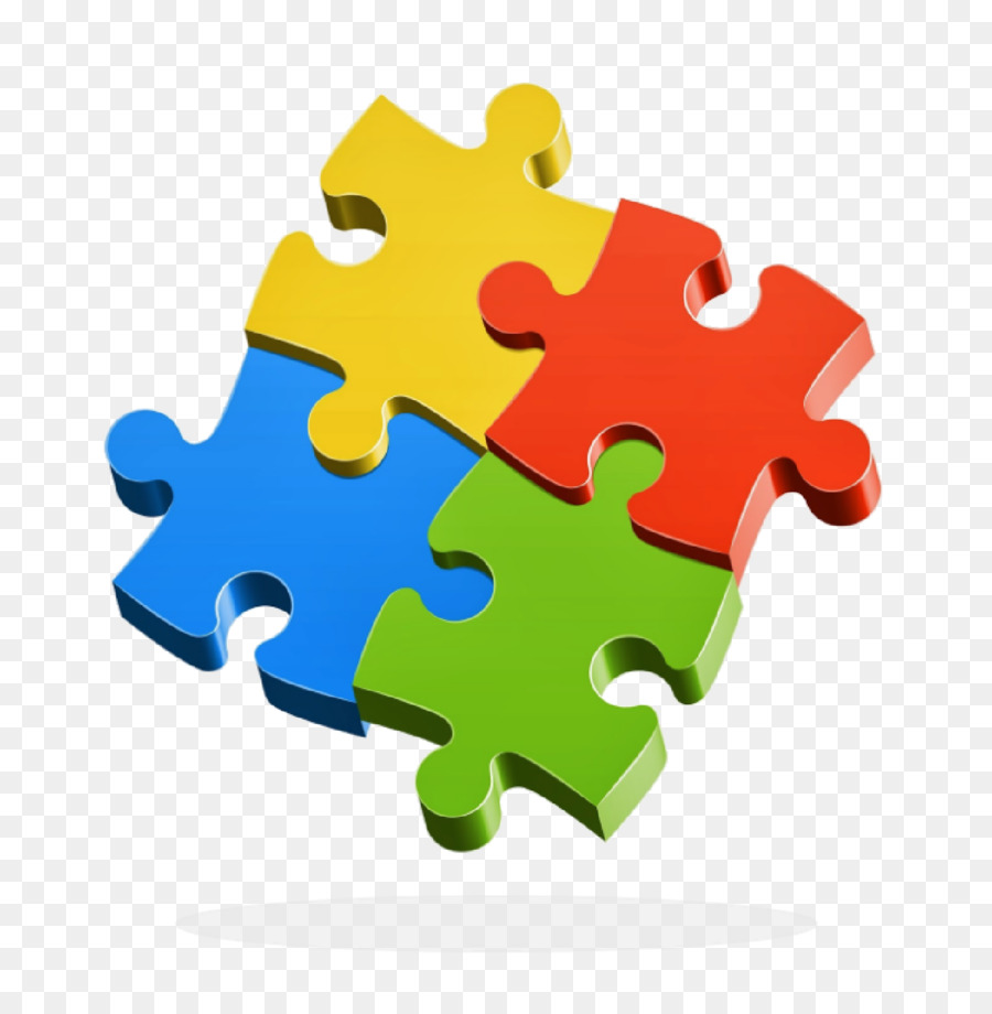 Jigsaw Puzzles Stock Photography Drawing