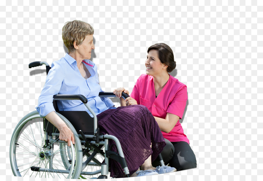 wheelchair caregiver old age health care home care service