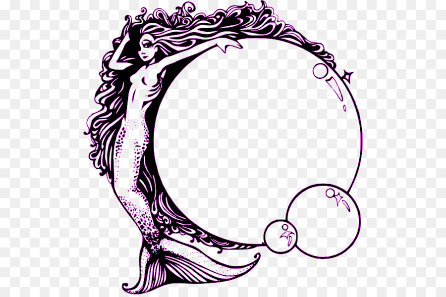 Awesome Mermaid Fairy Siren Clip Art   Mermaid
