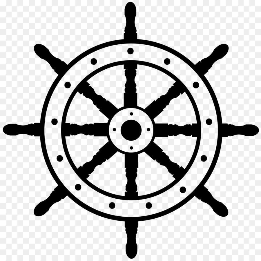 ships wheel boat clip art steering wheel png download