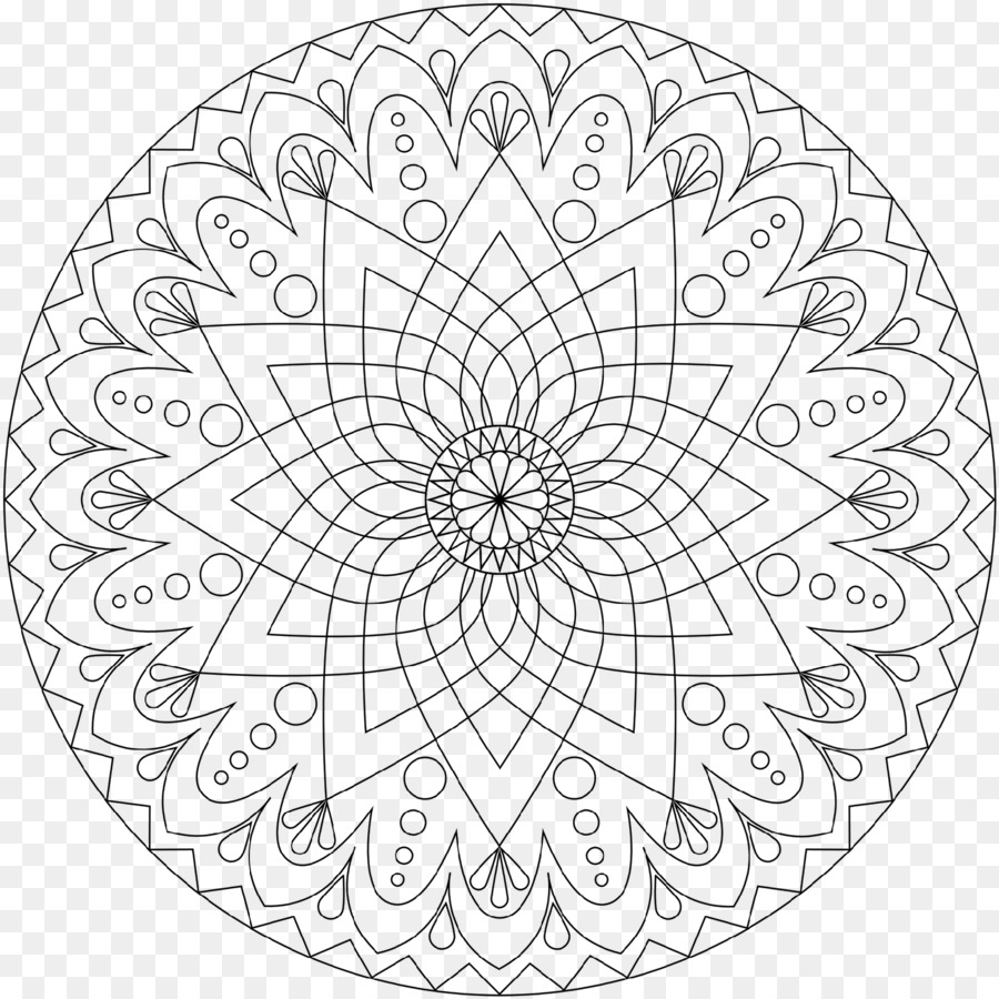 Coloring book Mandala Coloring Pages Free Meditation Child - child ...