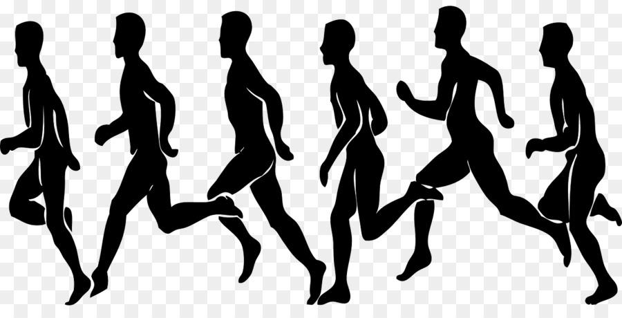 Cross Country Running Marathon Clip Art