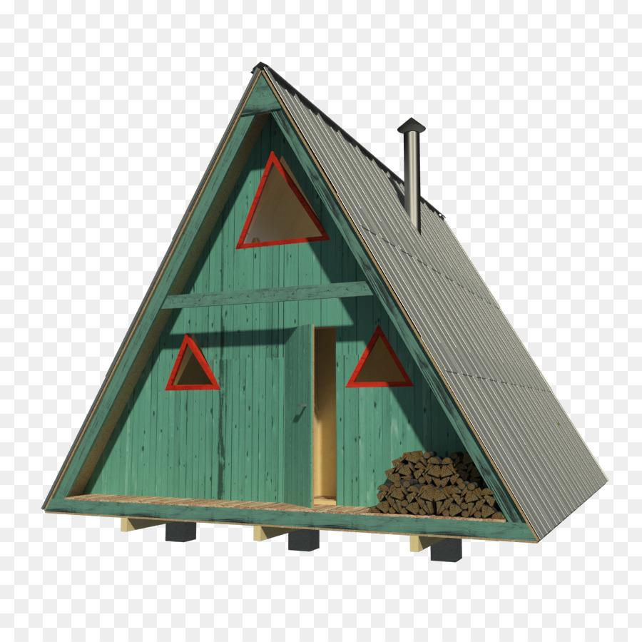 Casa plan de Una casa de marco plan de Piso de la cabaña - cabaña ...