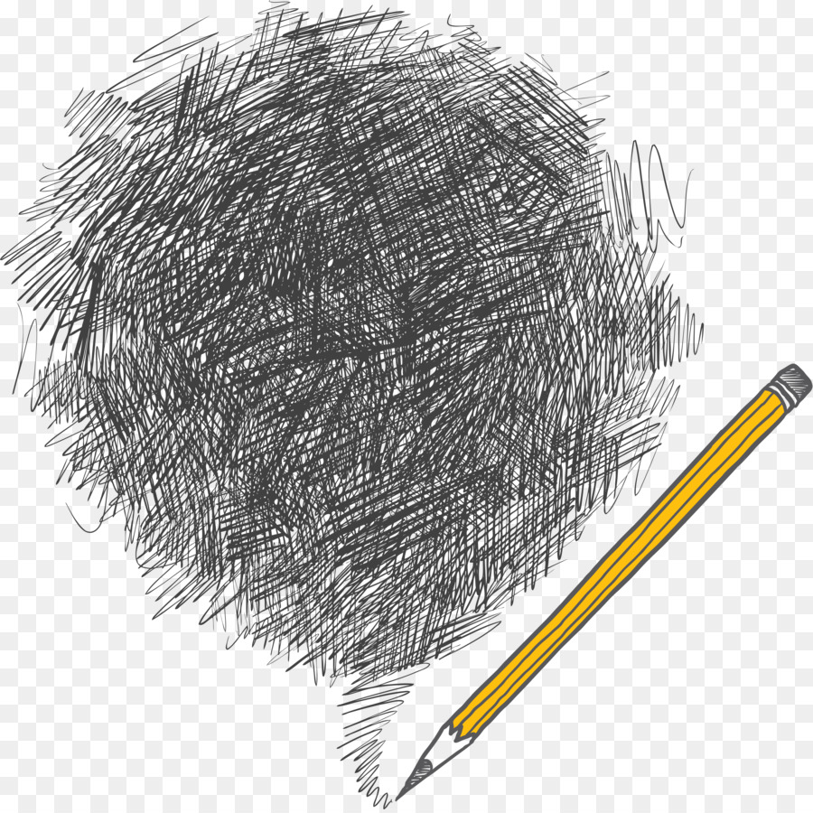 Drawing pencil shading line png