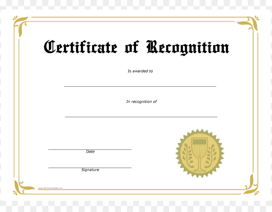 Template Award Academic Certificate Microsoft Word Student