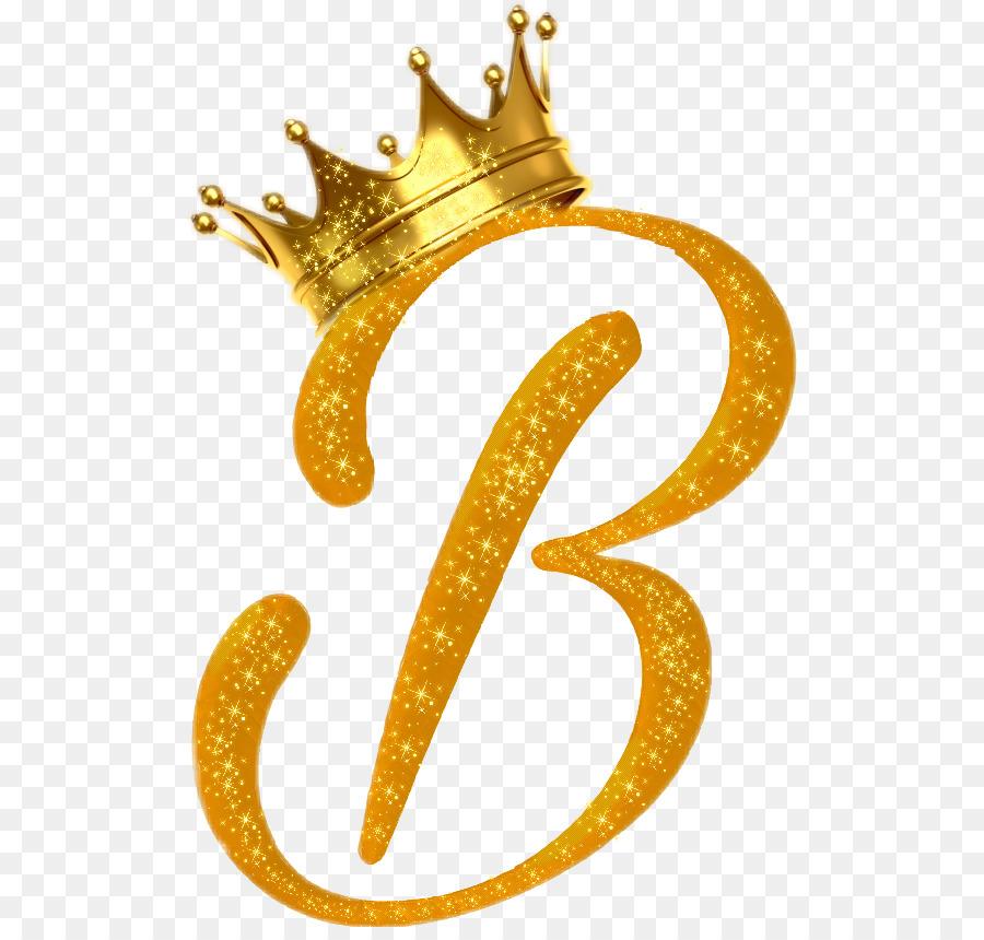 Letter Gold B Font - Gold Letter Png Download - 558848 -6286