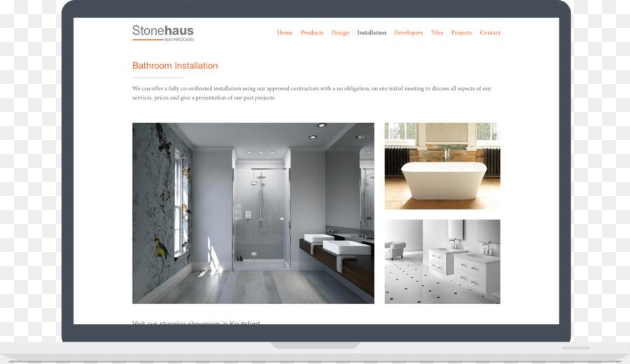 Bathroom Responsive web design Hansgrohe - bathroom interior png ...