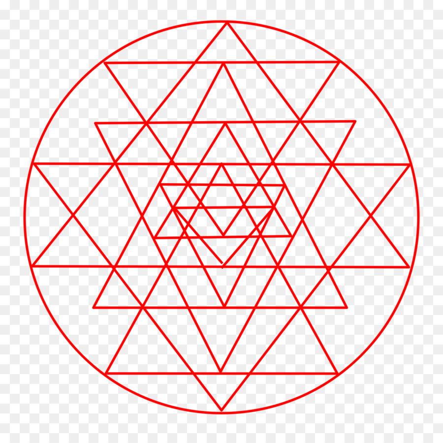 Sri Yantra Shri Vidya Bindu Hinduism Png Download 12801261