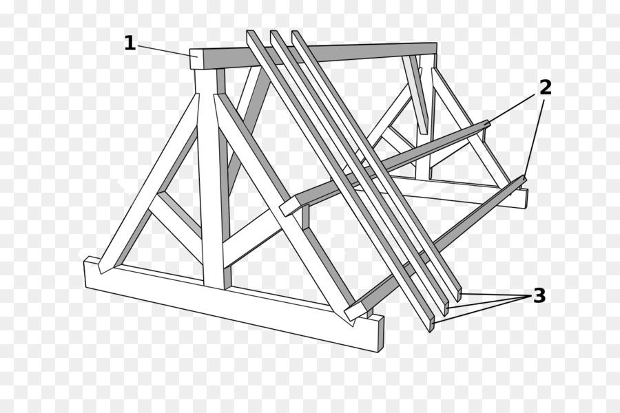 Madera de la techumbre de la Viga de la Construcción - techo ...
