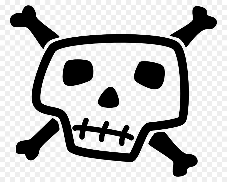 Skull And Bones Skull And Crossbones Drawing Skull Png Download