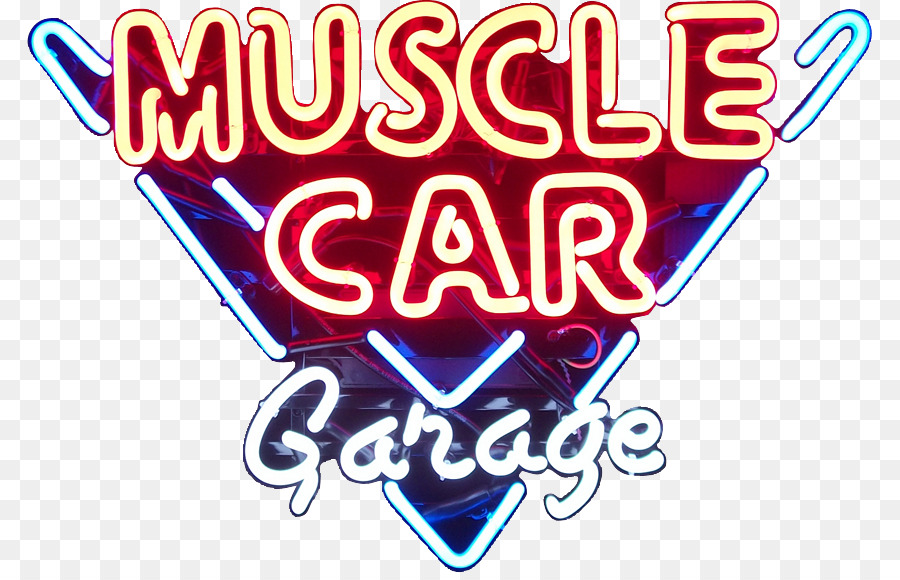 Neon Sign Garage Car Man Cave Logo