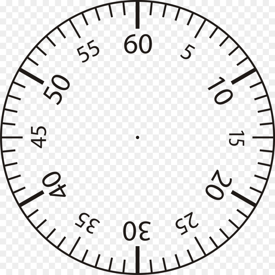 Clock face Template Minute Clip art - stopwatch png download - 2330 ...