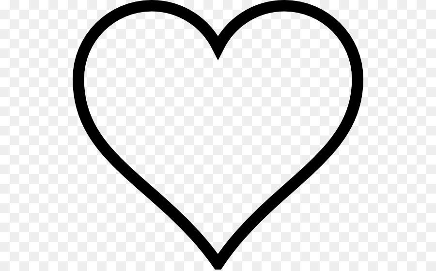 Libro para colorear de Corazón el Día de san Valentín - corazón ...