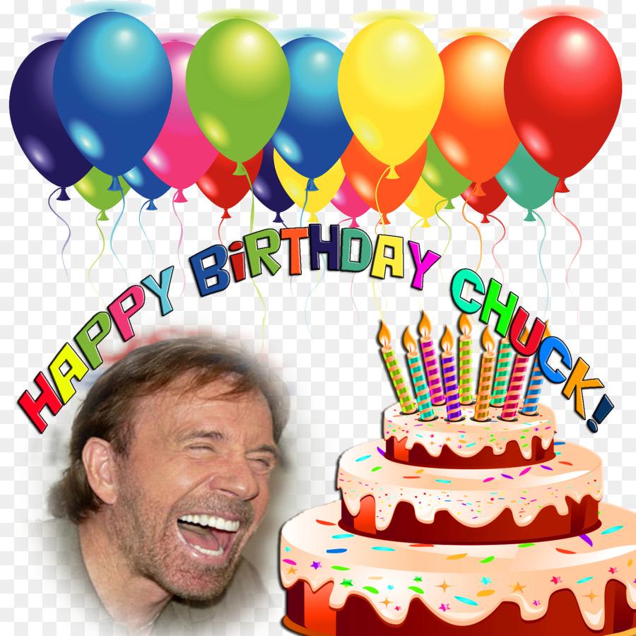 Chuck Norris Birthday Cake Balloon Walker Texas Ranger Chuck