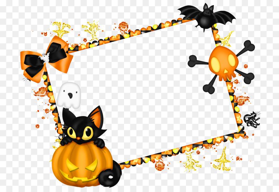 Halloween Picture Frames Clip Art Halloween Png Download 787607