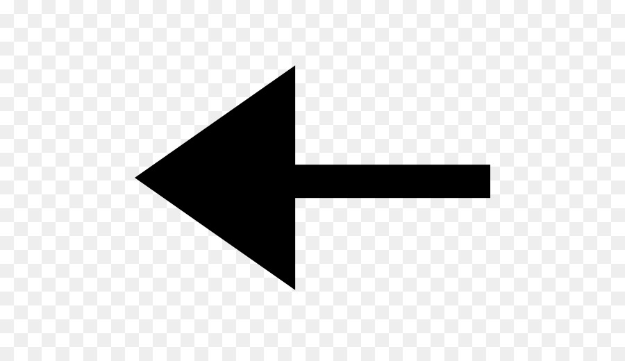 Computer Icons Arrow Symbol Sign Left Arrow Png Download 512512