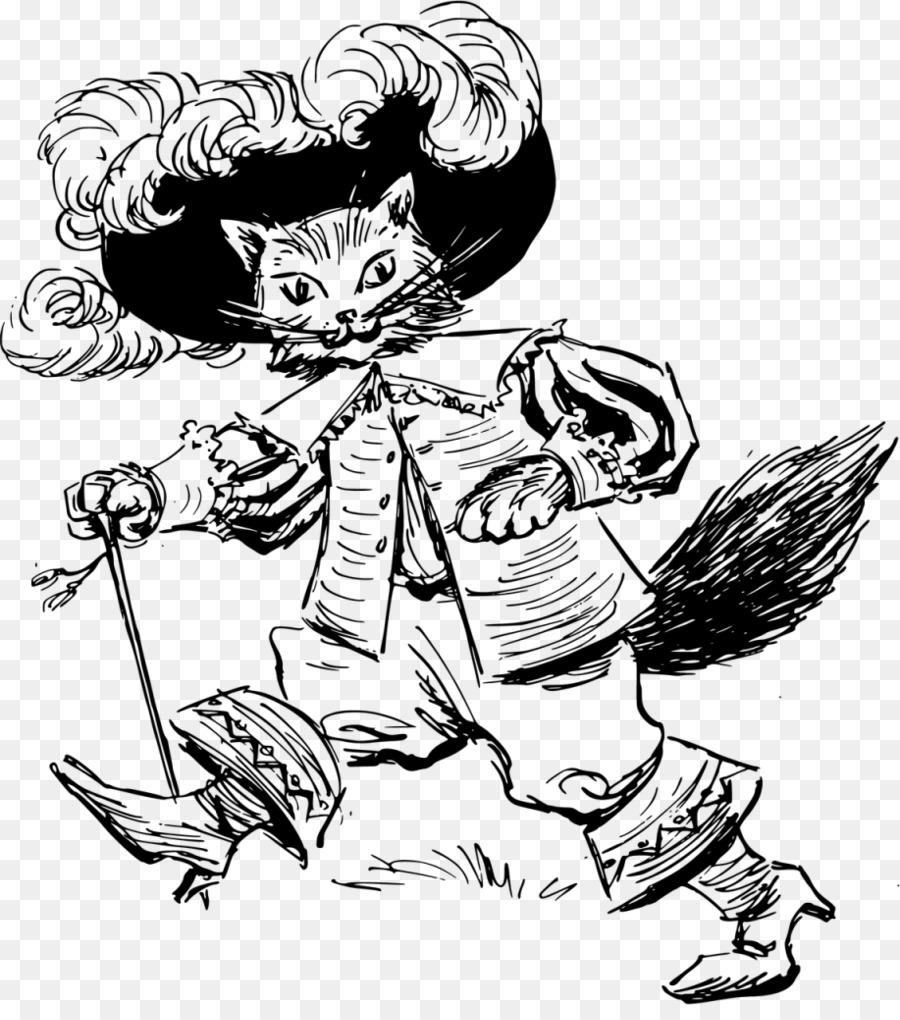 Puss Boots Youtube Boyama Kitabı çizim çizmeli Kedi Png Indir