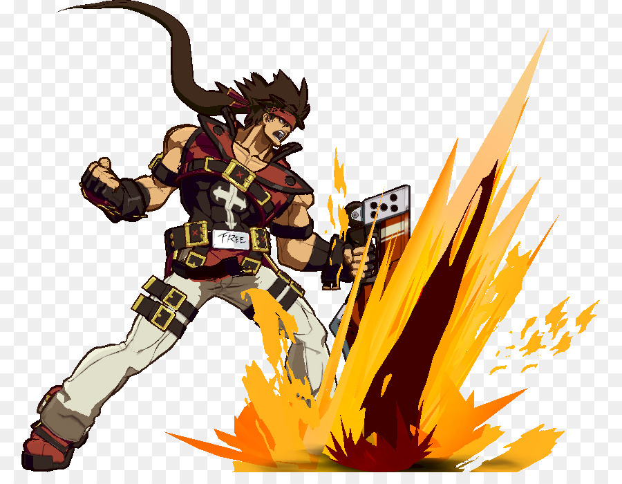 Guilty Gear Xrd Sol Badguy Sprite Character Sol Png Download 837
