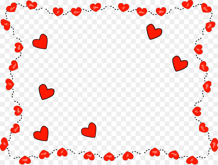 Valentine\'s Day Picture Frames Heart Ornament Clip art - love frame ...