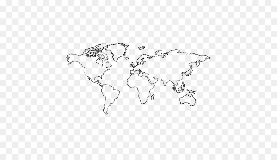 Globe World map Europe - hand drawn png download - 512*512 - Free ...