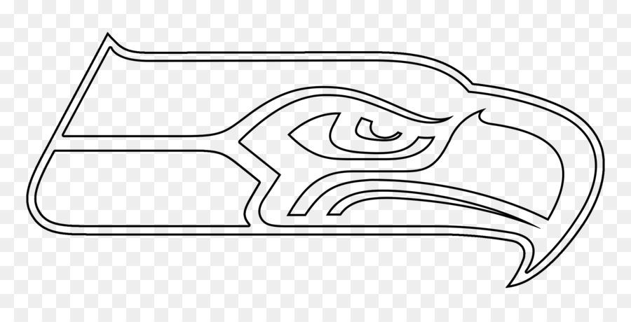 Seattle Seahawks de la NFL Línea de Dibujo en el arte Jaguares de ...