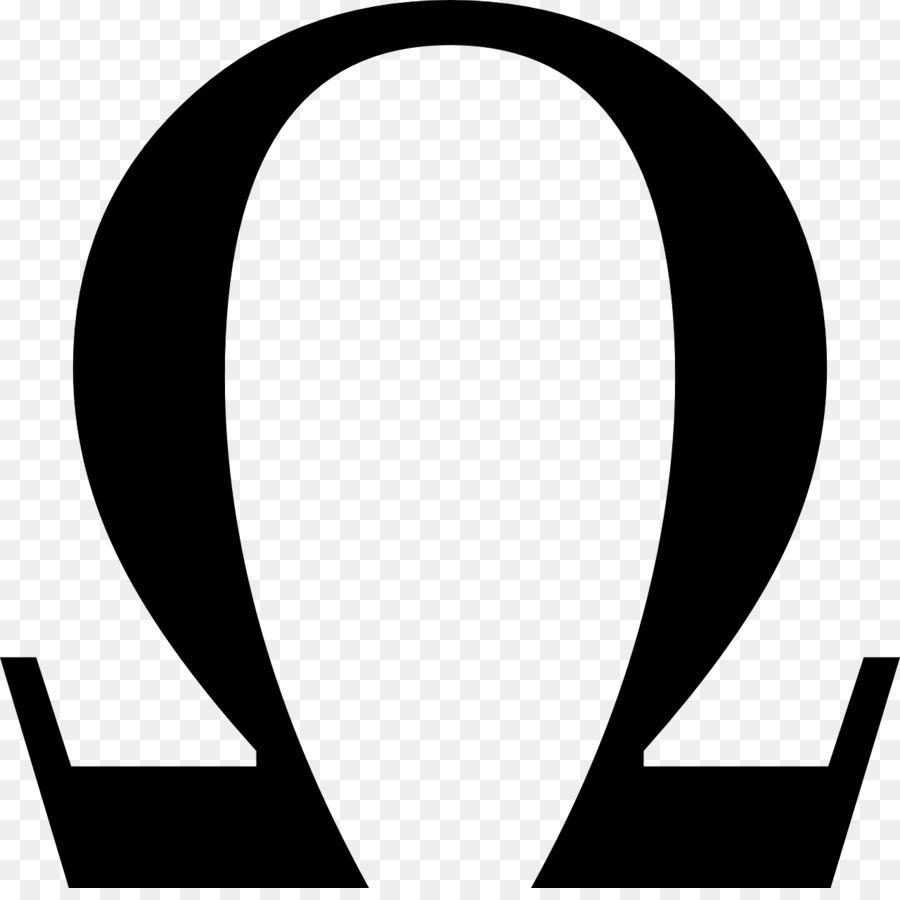 Greek Alphabet Alpha And Omega Symbol Ohm Om Png Download 1280
