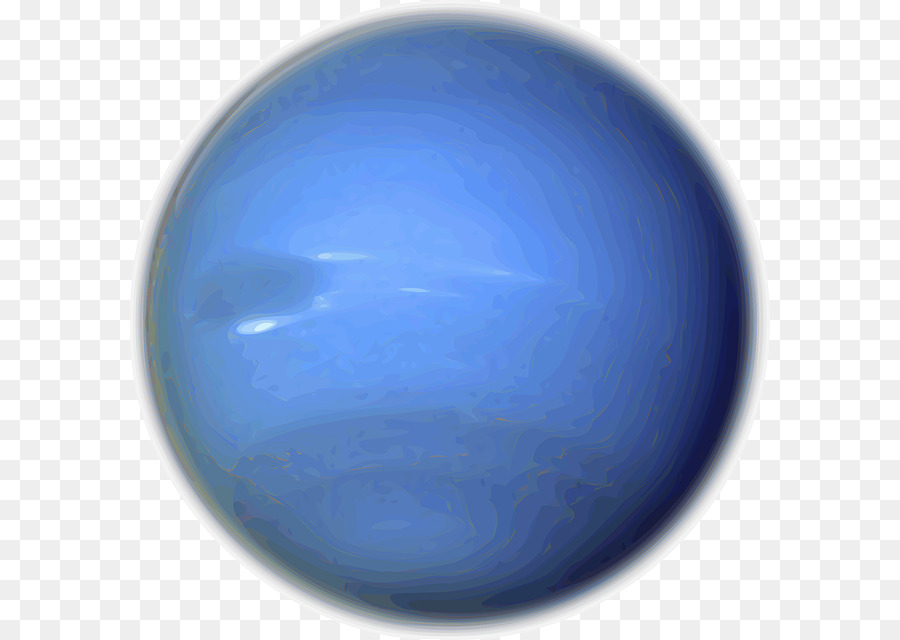 Planet neptune. Solar system background png