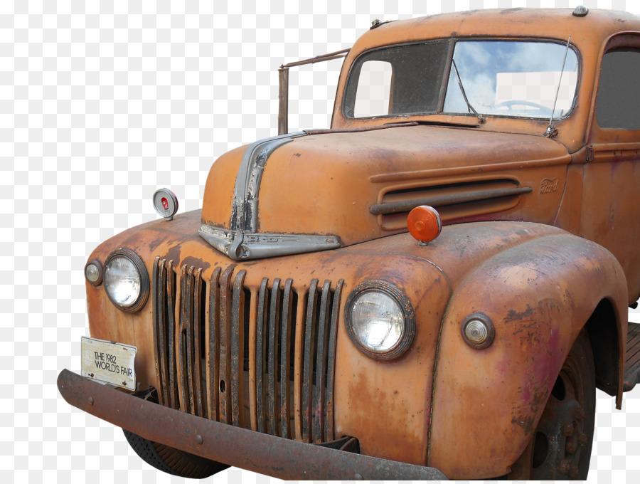 Car Pickup truck Thames Trader Peugeot 203 - old car png download ...