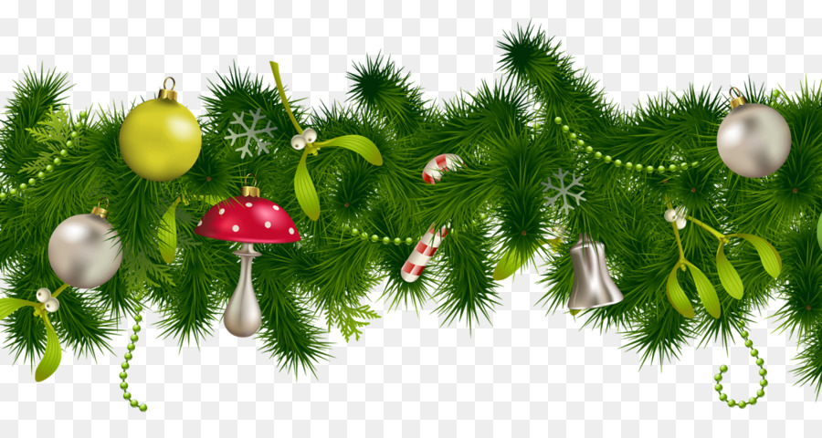 Christmas decoration christmas ornament clip art garland png