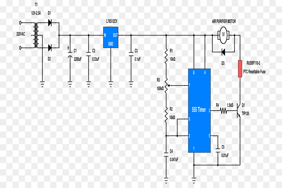 Resettable fuse Electronic symbol Electronics Wiring diagram - fork ...