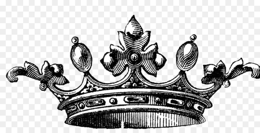 Drawing Crown Of Queen Elizabeth The Queen Mother Clip Art Black