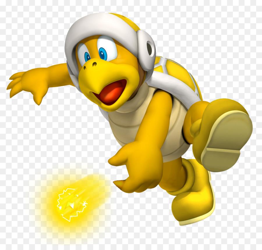 New Super Mario Bros. Wii - donner png herunterladen - 1250*1173 ...