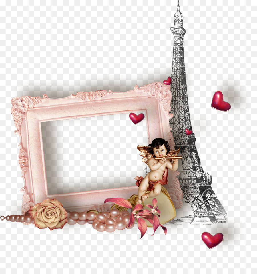 Picture Frames Photography Eiffel Tower PicMix - pink frame png ...