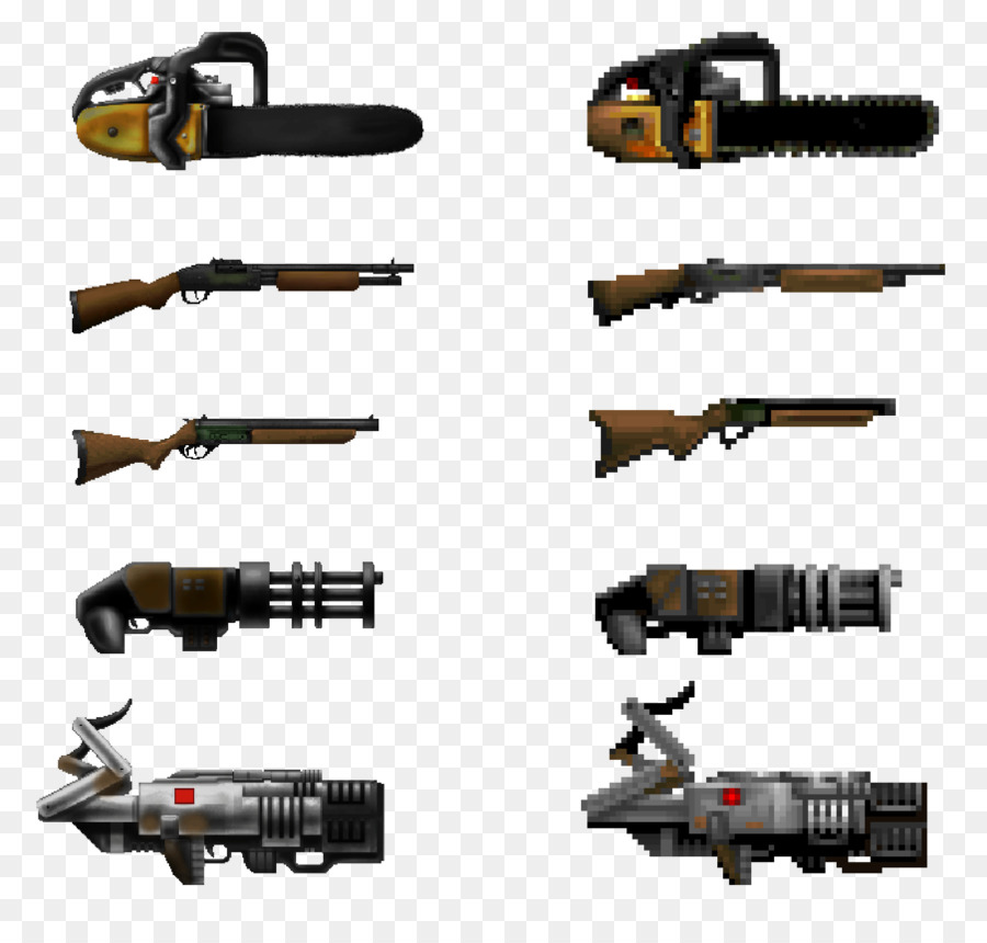 Gun Cartoon png download - 1600*1506 - Free Transparent Doom