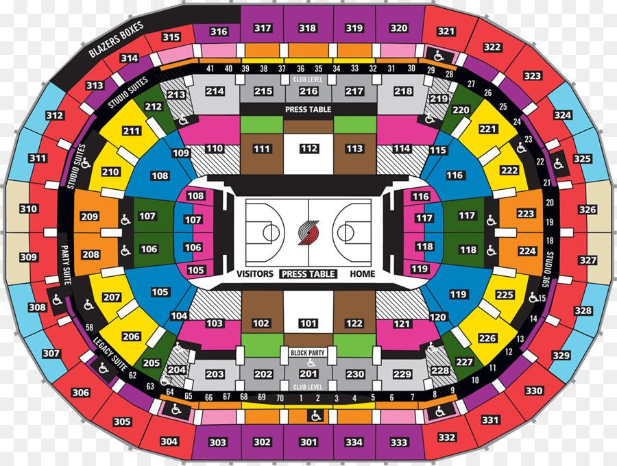 Portland Trail Blazers Moda Center Rose Quarter Veterans Memorial Coliseum Nba Ticket Png 1200 905 Free Transpa