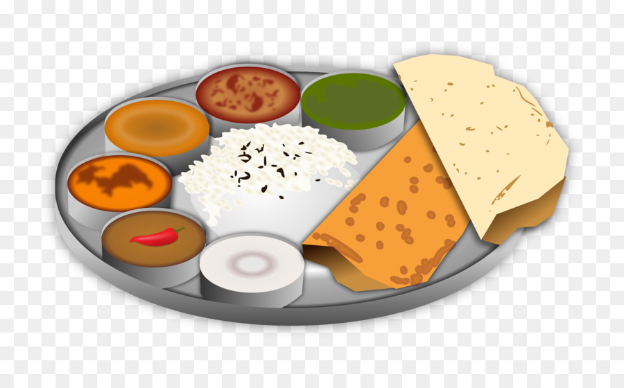 South Indian Cuisine Traditional Food Clip Art