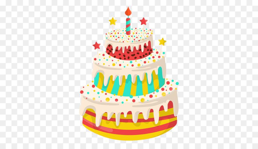 Pastel De Cumpleaños De Felicitación Y Tarjetas De Feliz