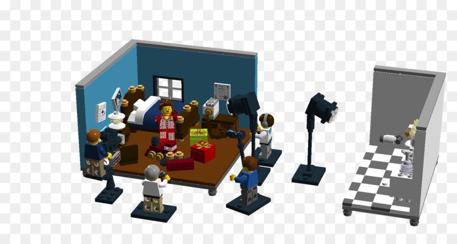 LEGO Film Studio Bedroom   The Lego Movie