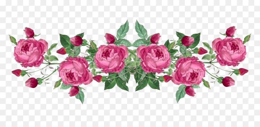 Paper Wedding Anniversary Wallpaper Flower Garland Png Download