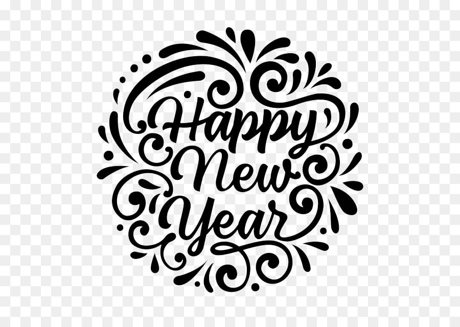 New Year\'s Day Wish Christmas Party - class of 2018 png download ...