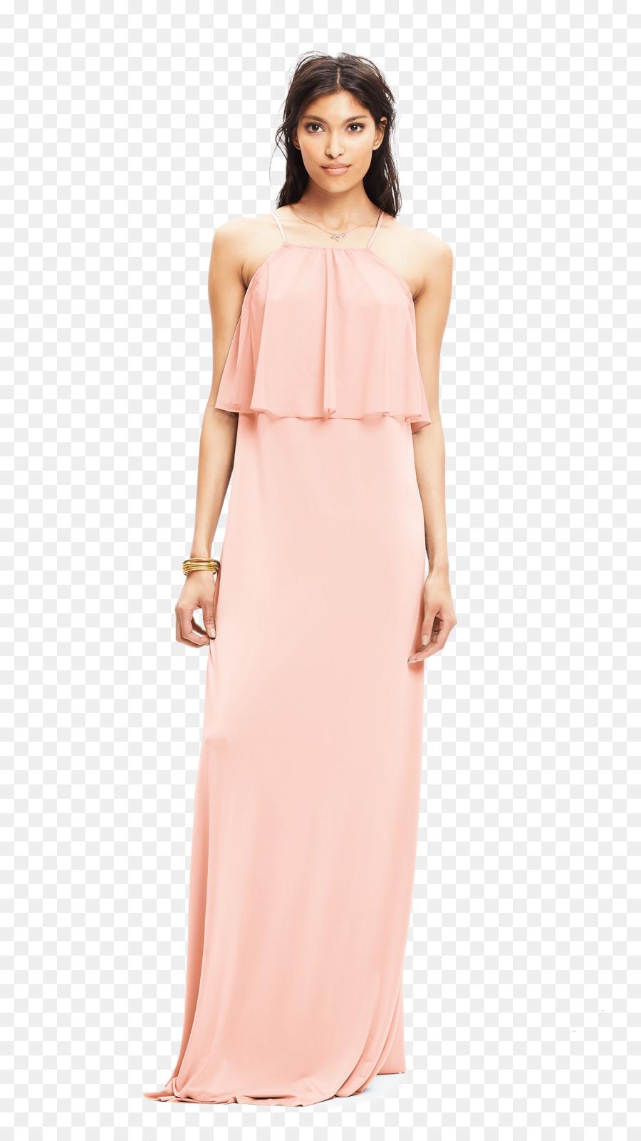 Vestido de cóctel Ropa de la Boda vestido de Dama de honor - blush ...