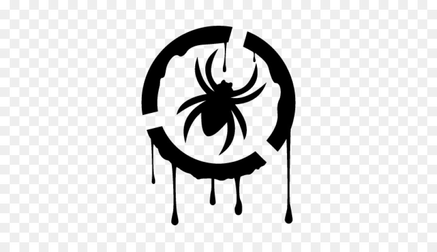 Spider Logo Decal Clip Art Spider Png Download 518518 Free